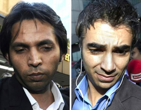 Mohammed Asif and Salman Butt