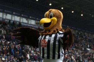 Baggie Bird, West Bromwich Albion mascot