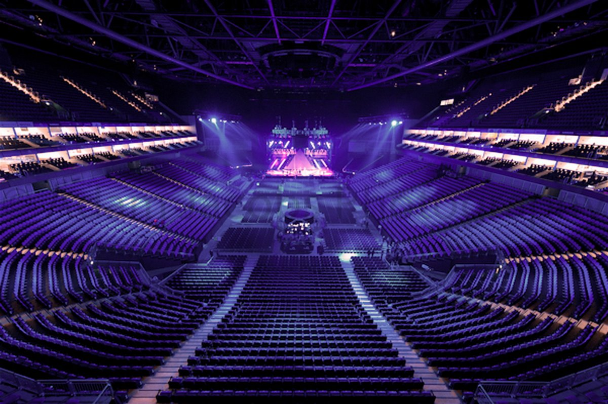 24 The O2 Arena London Seating Plan Empty Seats High Resolution Essentially Sports