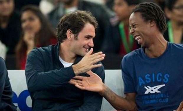 Federer-Monfils IPTL