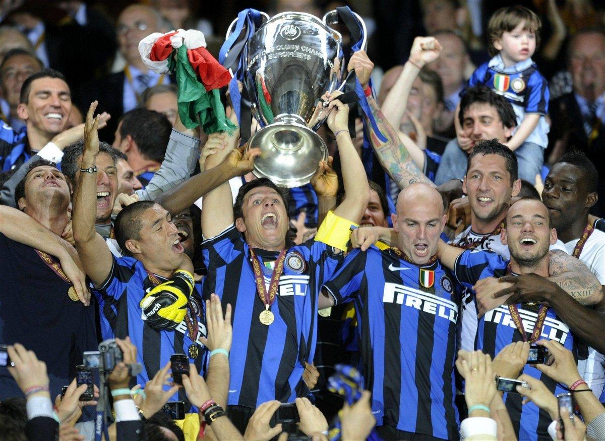 2010 Champions League winners, Inter Milan