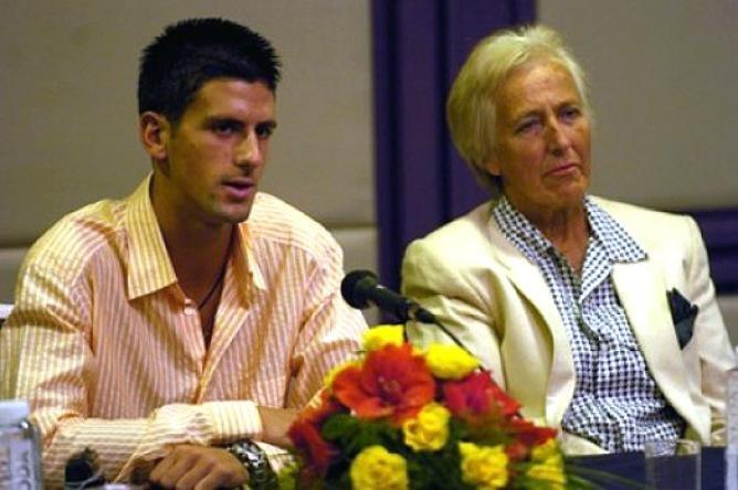 Jelena Gencic Novak Djokovic