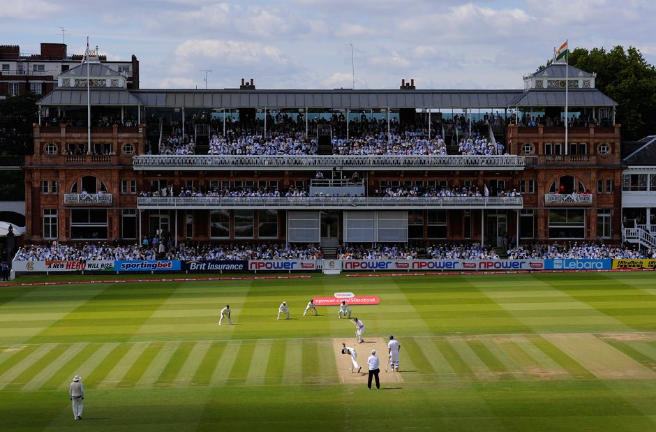 Lords cricket ground, London.