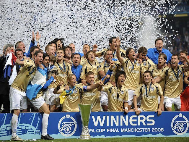 Zenit St Petersburg, the last Russian team to have a European Trophy