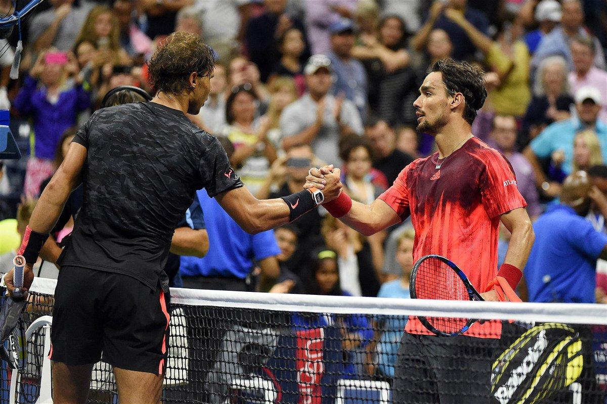 Fabio Fognini - Rafael Nadal Men's Singles - Round 3