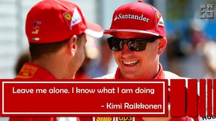 Funniest Kimi Raikkonen quotes