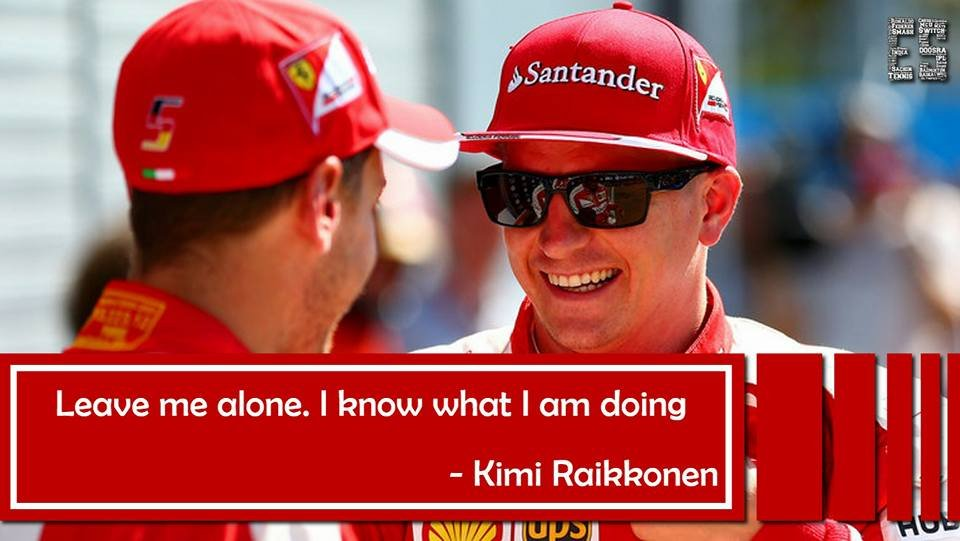 Funniest Kimi Raikkonen quotes