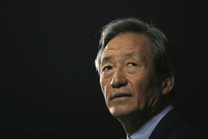 FIFA presidential candidate Chung Mong-joon