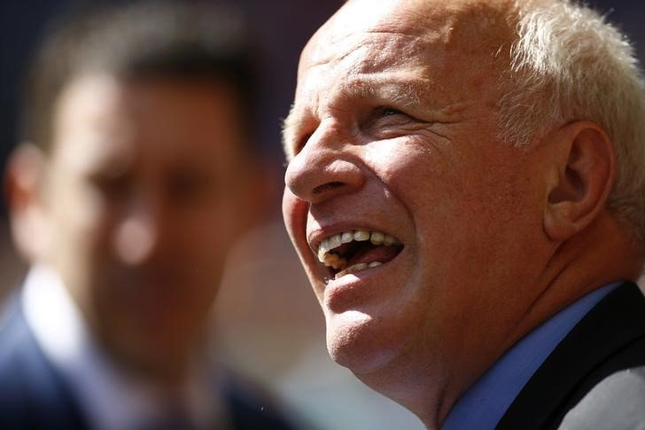Football - Chelsea v Arsenal - FA Community Shield - Wembley Stadium - 2/8/15 FA Chairman Greg Dyke before the match Reuters / Darren Staples Livepic
