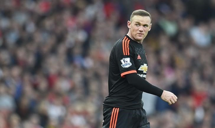 Manchester United's Wayne Rooney looks dejected at the end of the match Reuters / Dylan Martinez Livepic