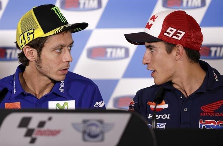 Rossi - Marquez Spat