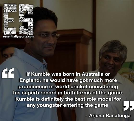 Quotes on Kumble
