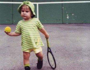 Baby Belinda Bencic