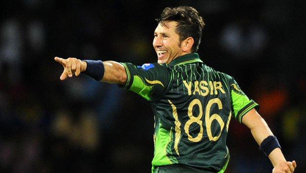 Pakistan-cricketer-Yasir-Shah-celebrates