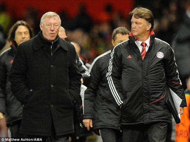 Sir Alex Ferguson and Louis van Gaal