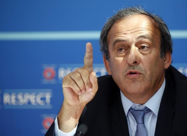 Platini lodged an appeal with FIFA against his 90-day ban from the game on Saturday, French soccer's governing body said it would back him if he went to CAS
