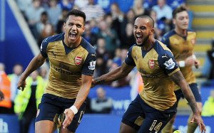 Arsenal have been on fire away from home.