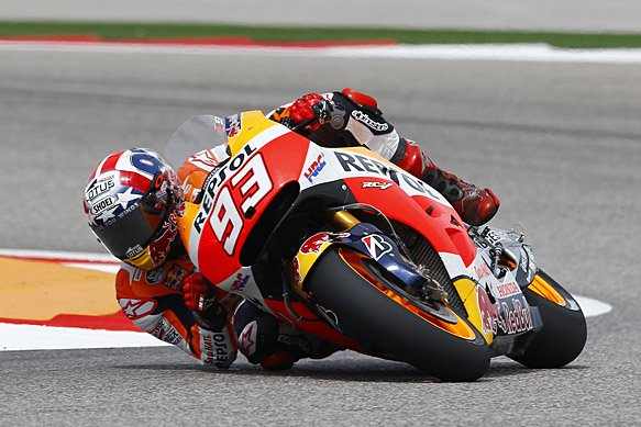 Marc Marquez wins in Texas for sixth year in a row