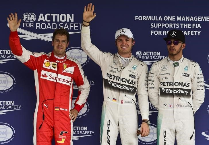 Nico Rosberg Mexican Grand Prix