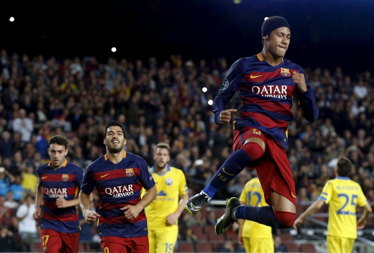 Neymar and Suarez