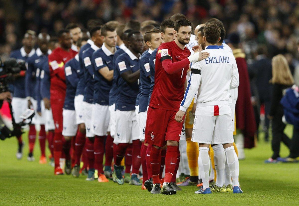 England v France