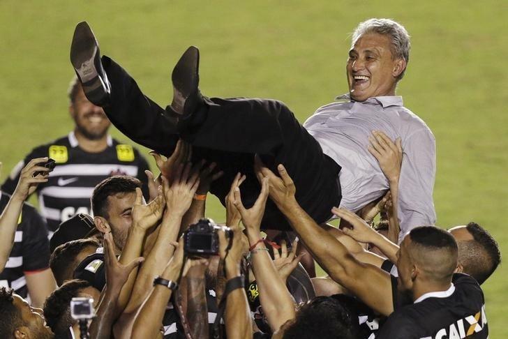Tite Corinthians coach celebrations