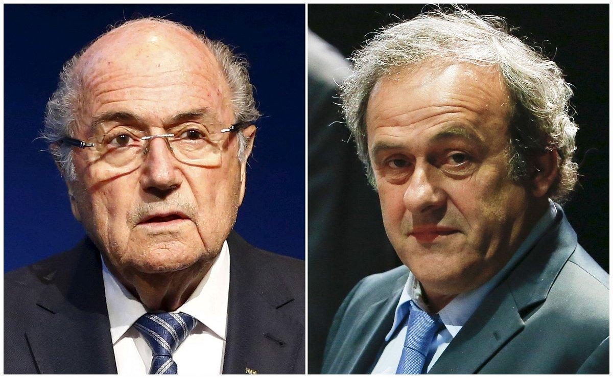 Sepp Blatter / Michel Platini