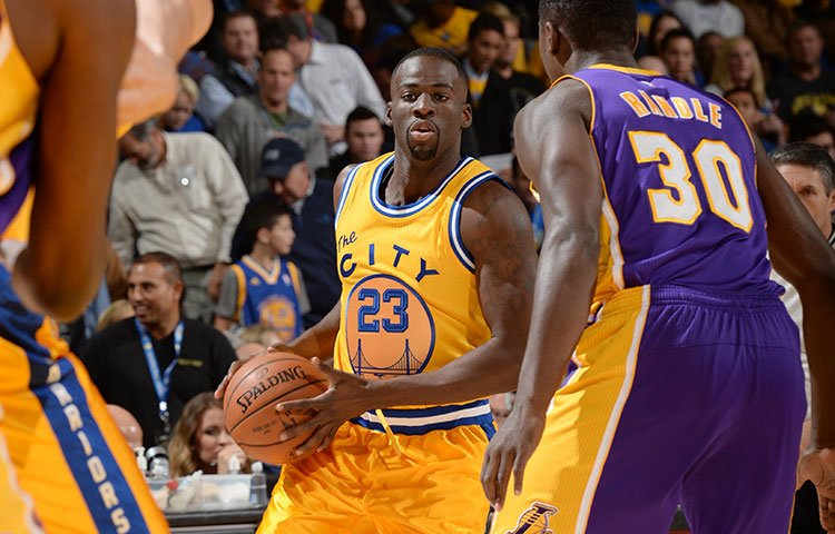 Draymond Green who signed a contract extension in the off-season, has so far more than proven his worth with his all-round performances