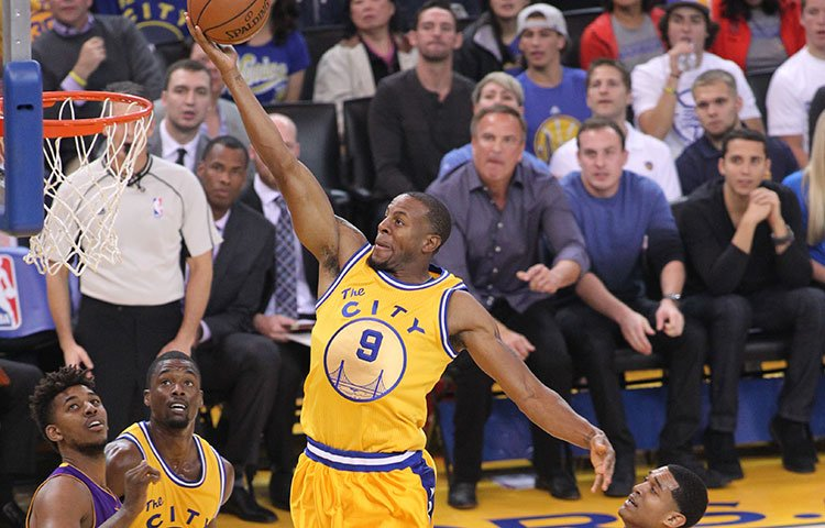 Iguodala, who has started from the bench has been a key player for the Warriors.