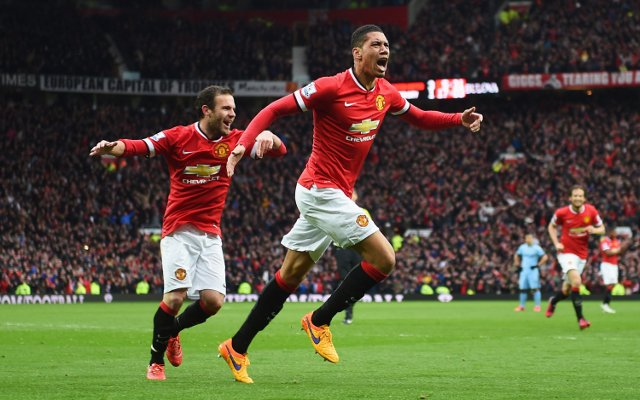 Chris Smalling Celebrating.