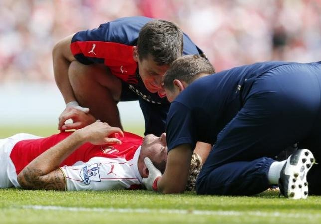 Concussion Olivier Giroud