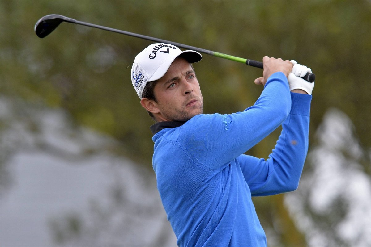 Cordon Golf Open. Round 2. Sebastien GROS (FRA)