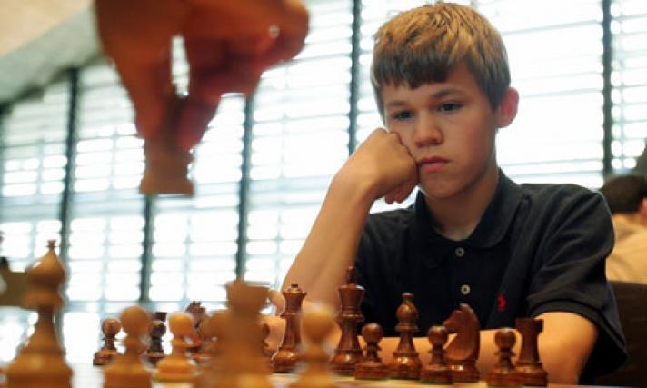 Magnus Carlsen Childhood