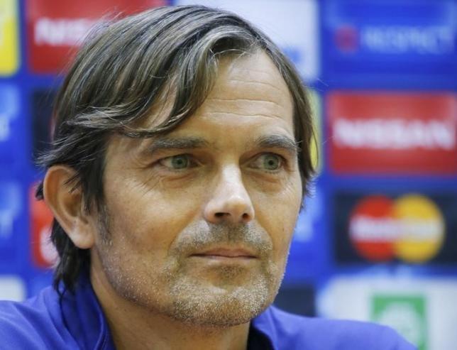 PSV coach Phillip Cocu
