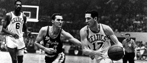Celtics vs Lakers during the Celtics dynasty of the 60s