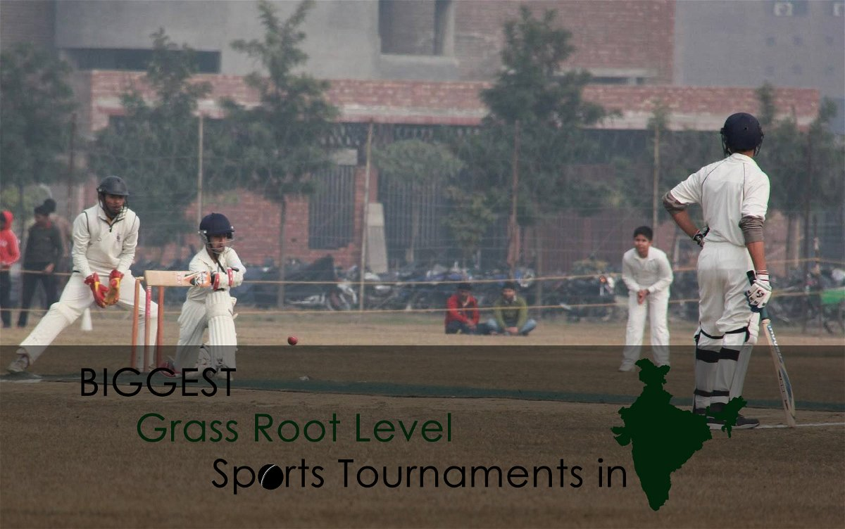 Biggest Grass Root Level Sports Tournaments in India