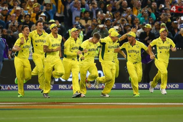 Australia Beat New Zealand in the 2015 Cricket World Cup Final