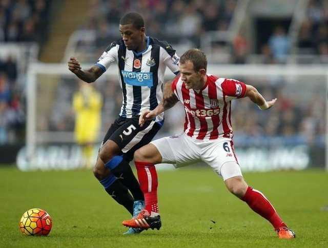 Newcastle United v Stoke City - Barclays Premier League