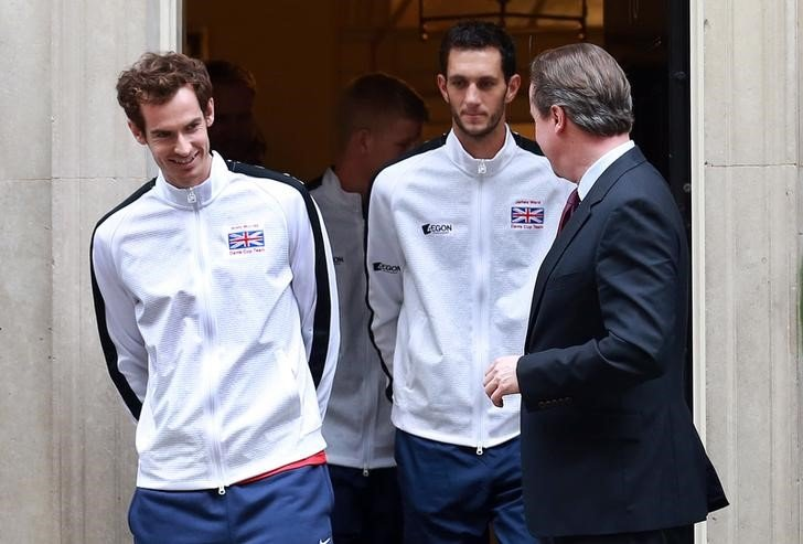 Andy Murray David Cameron