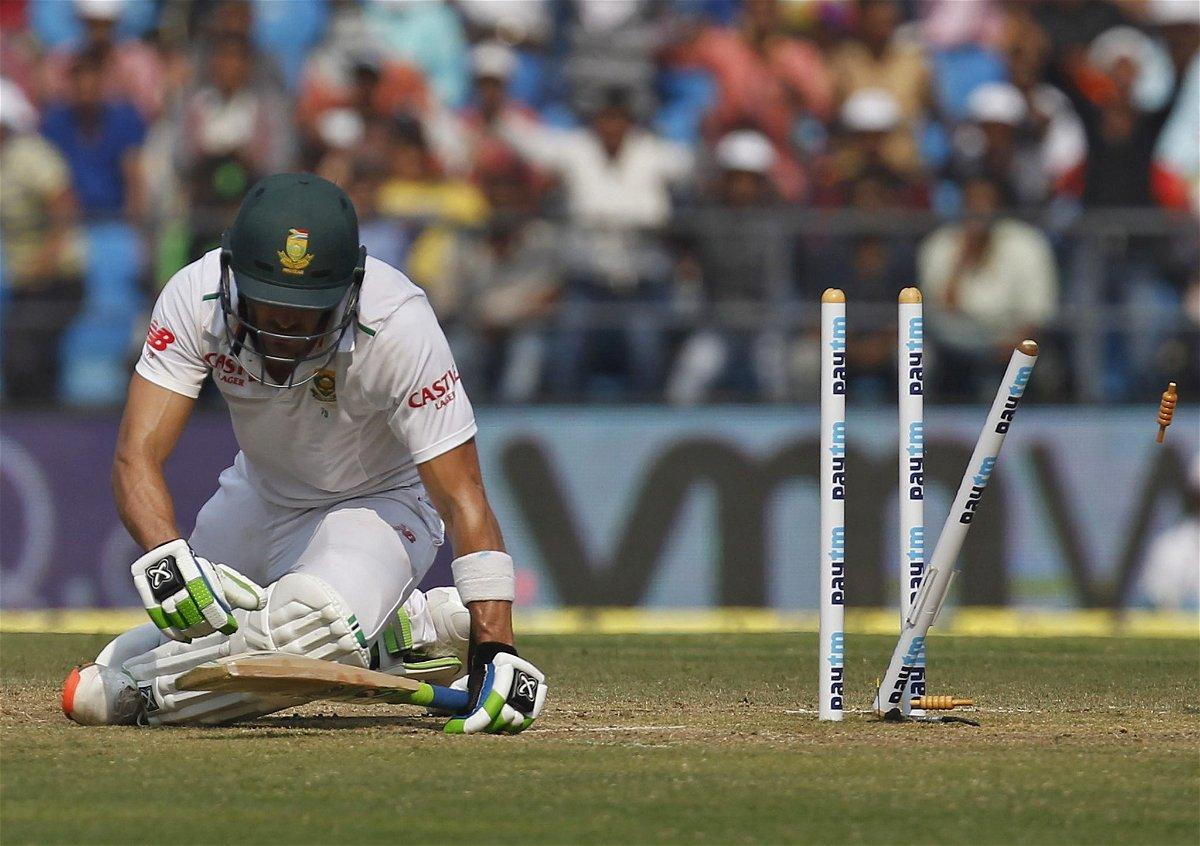 Faf du Plessis Nagpur test