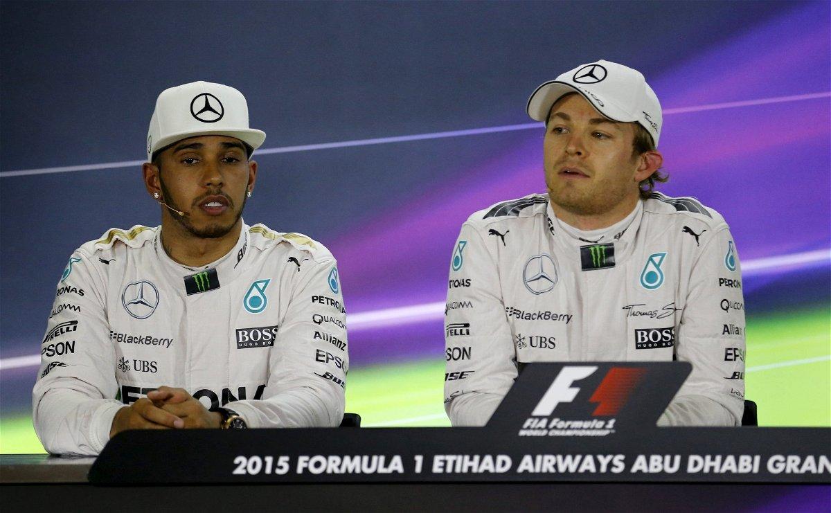 Hamilton-Rosberg relationship