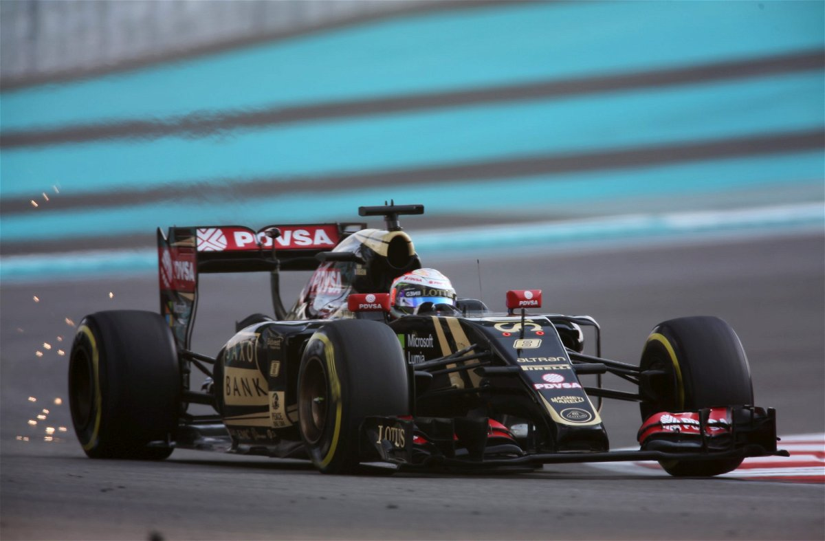 Formula One driver Romain Grosjean