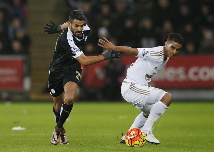 Leicester City Mahrez