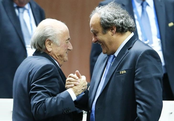 blatter and platini