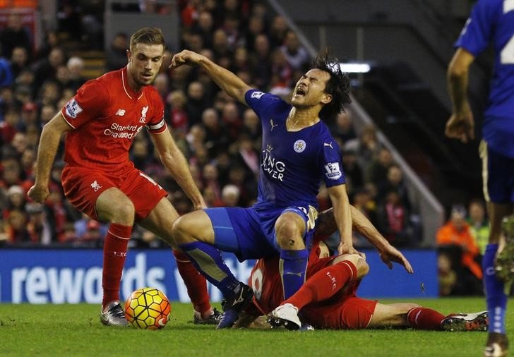 Liverpool v Leicester City - Barclays Premier League