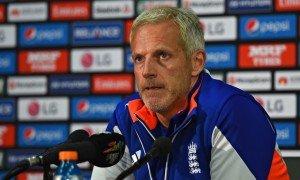 England head coach Peter Moores