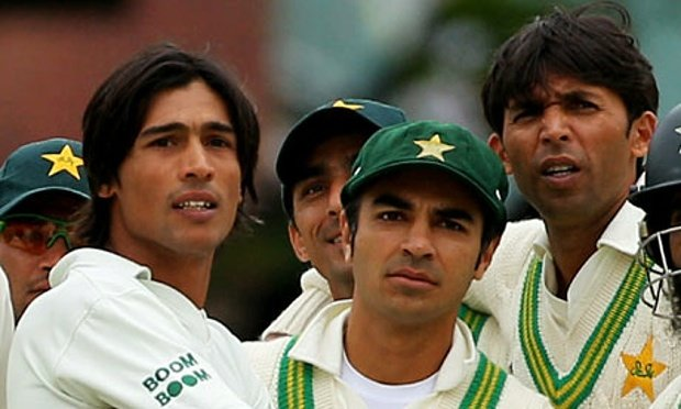 The infamous trio. After pleading guilty in spite of the insurmountable evidence, Mohammad Asif, Mohammad Amir and Salman Butt were banned from all forms of cricket. © Getty Images
