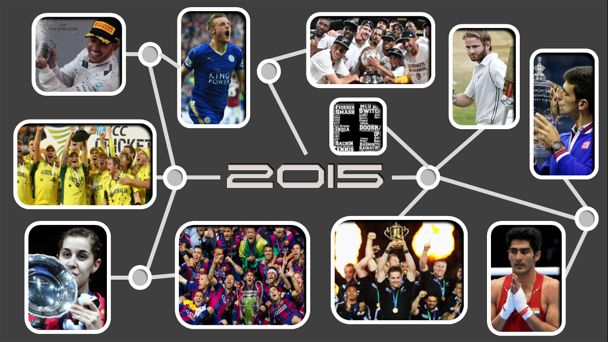 The A-Z of 2015 : Top Sporting Moments
