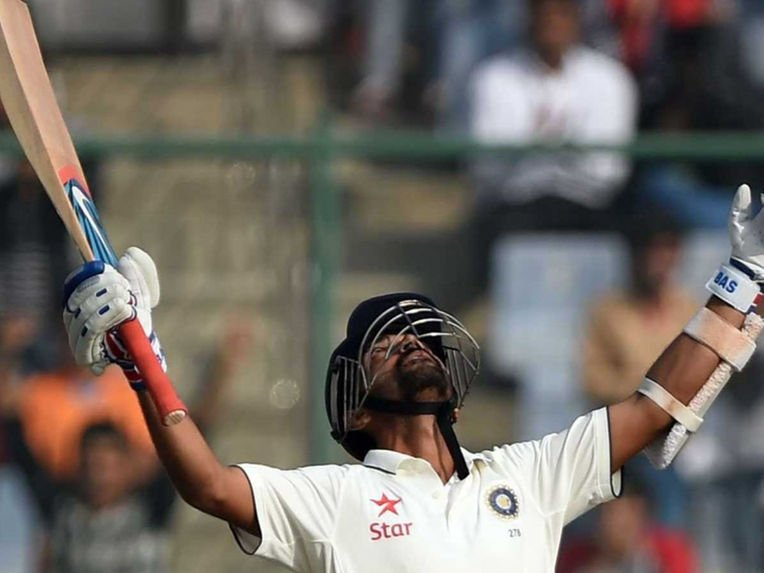 Life comes a full circle. After a dismal debut at Delhi, Rahane scores centuries in both innings of the test match, earning the Man of the Match award.