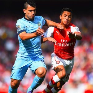 Aguero and Alexis are both set to return for the crucial fixture